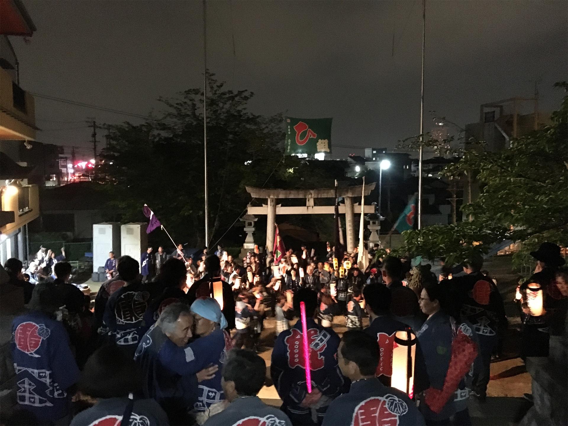 平成28年度浜松まつり 広沢町凧揚会ひ組