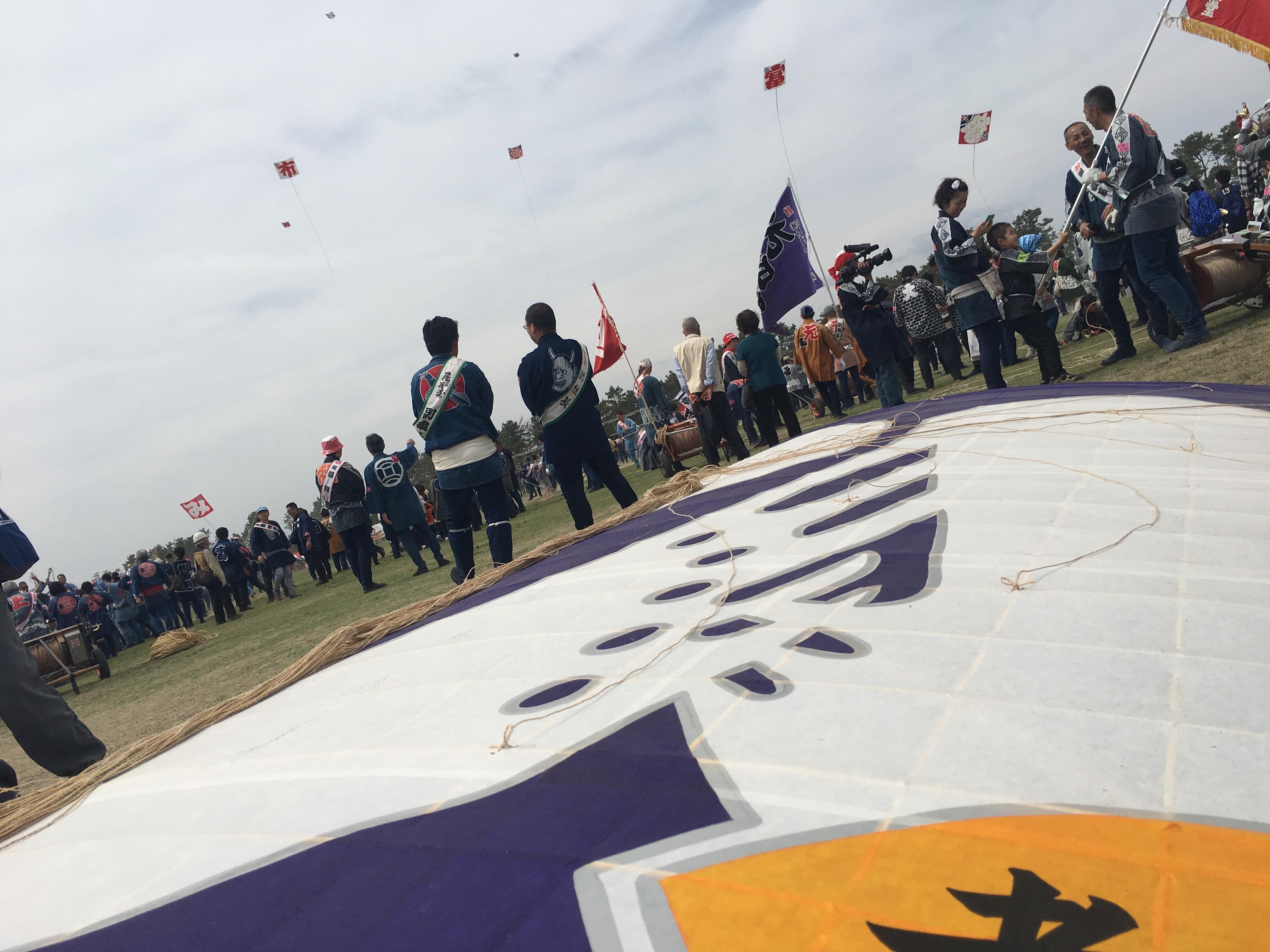 平成29年度(2017年)浜松まつり 広沢町凧揚会ひ組