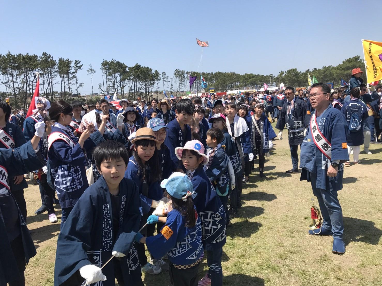平成30年度(2018年)浜松まつり 広沢町凧揚会ひ組
