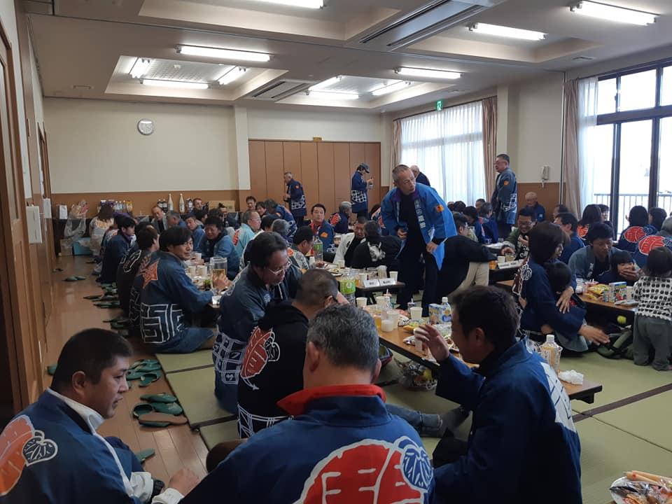平成31年 広沢町凧揚会ひ組 会所開き