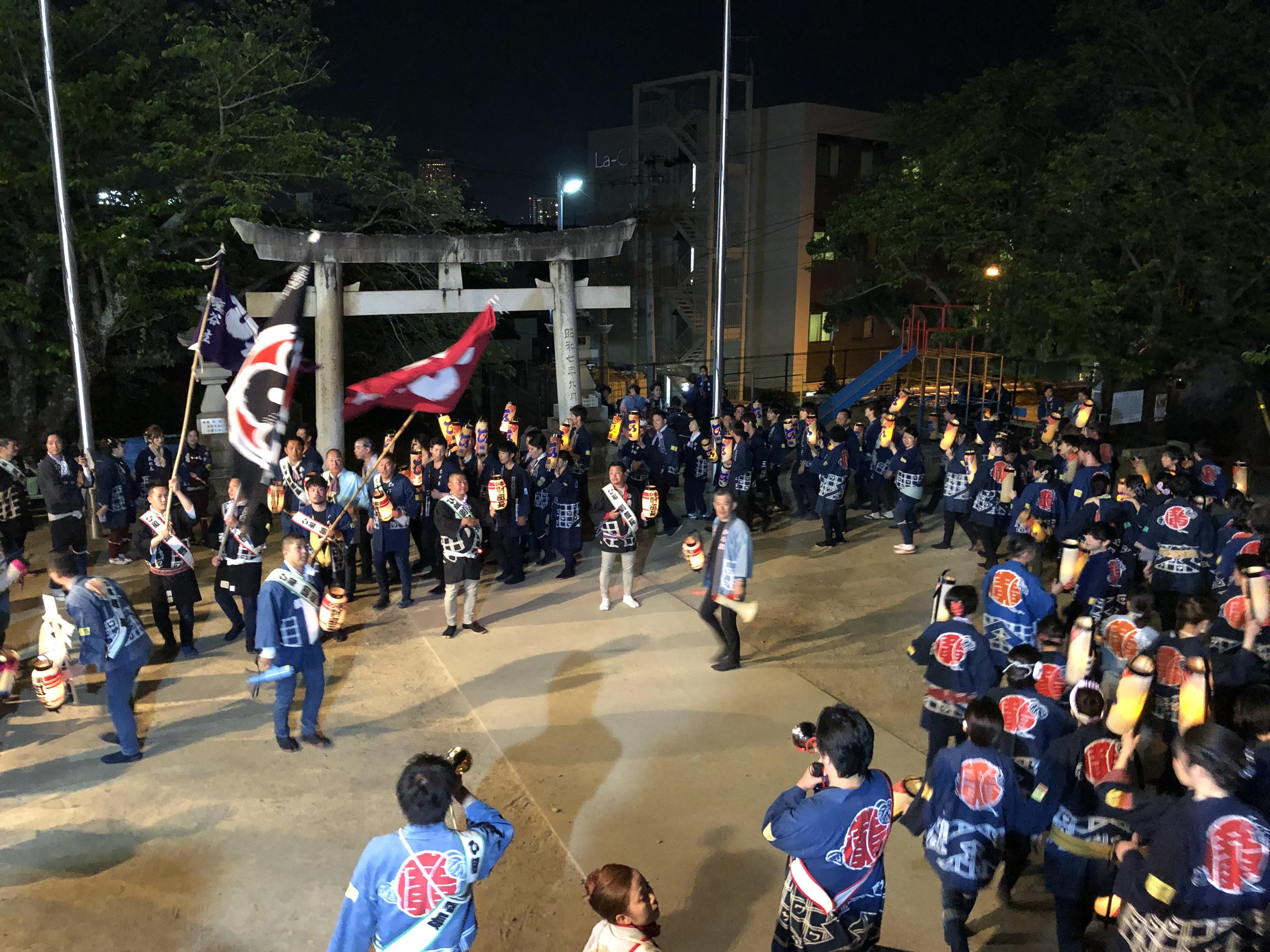 令和元年(2019年)浜松まつり 広沢町凧揚会ひ組